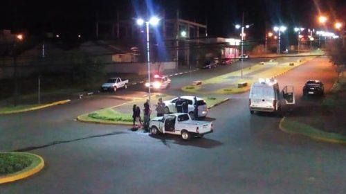 Acidente envolve dois veículos em cruzamento de avenidas de Ubiratã