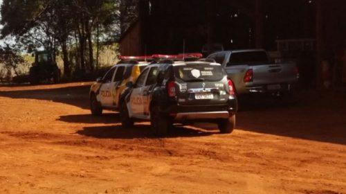 Tragédia: Homem morre enroscado no cardan de trator em Mamborê