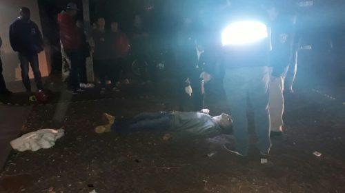 Homem é morto com vários tiros em Cafelândia
