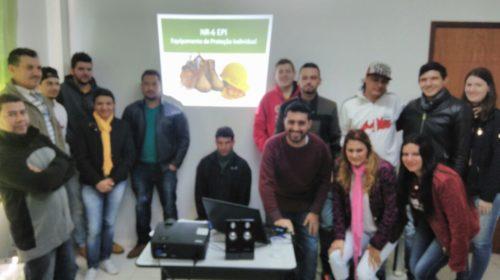 Medenge realizou treinamento sobre Equipamento de Proteção Individual – EPI