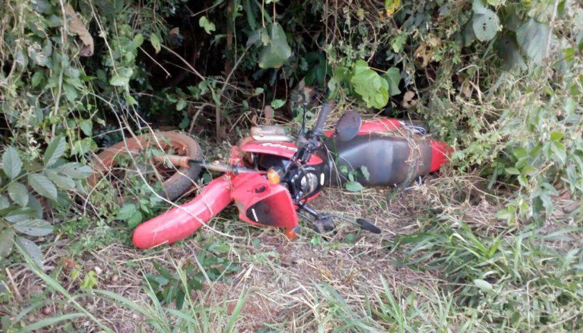 PM recupera motocicleta furtada em Ubiratã
