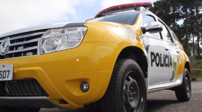 Assaltante é detido por populares e preso pela policia em Ubiratã