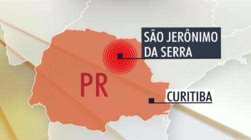 Tremores de terra atingem cidades do Paraná