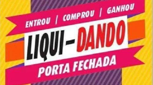 Mega promoção LIQUI – DANDO : Na Top Jeans você paga a metade do preço