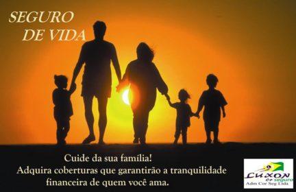 Luxon é + Seguro: Faça um seguro de vida e garanta tranquilidade financeira de quem você ama