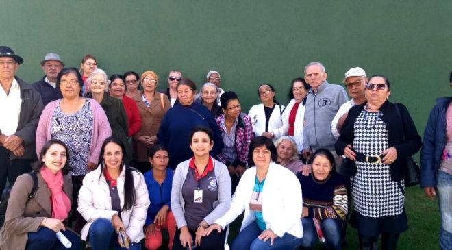 Grupo de Idoso do Serviço de Convivência e Fortalecimento de Vínculos fizeram o recadastramento biométrico